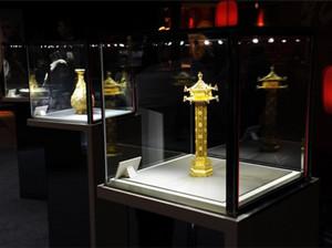周大福2015故宫文化珠宝系列展在上海K11举行