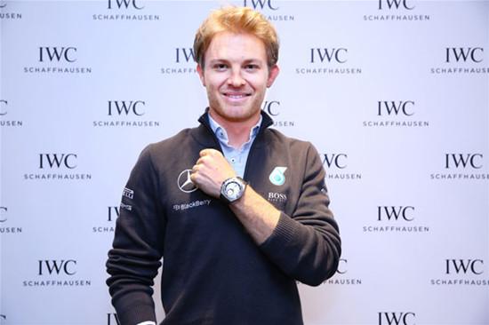 IWC万国表代言人尼科·罗斯伯格现身上海南京西路店