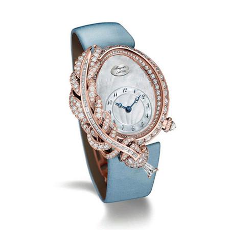 宝玑表推出全新Rêve de Plume高级珠宝腕表