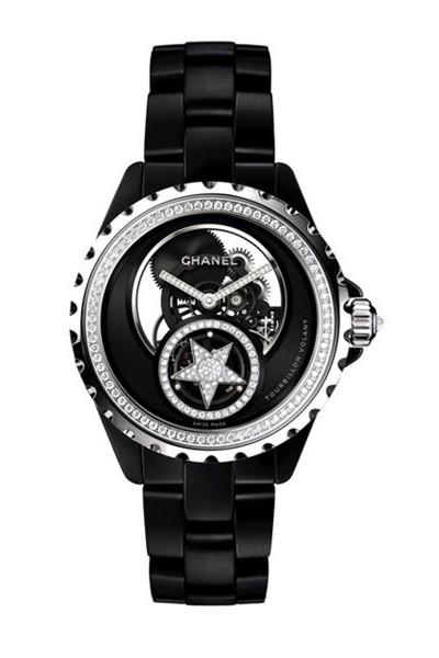 Chanel(香奈儿)全新J12飞行陀飞轮腕表