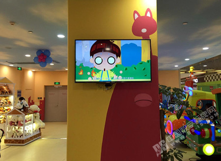 DSIS多媒体系统设备优化万达宝贝王服务形象
