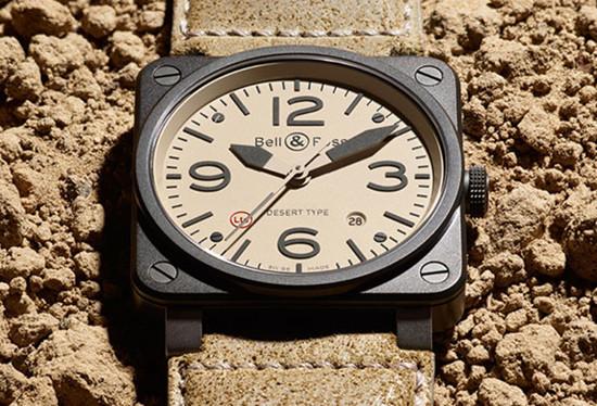 柏莱士名表品牌推出全新BR03-92 Desert Type腕表