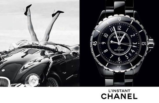 香奈儿发布2015年「香奈儿时刻」奢华腕表广告大片
