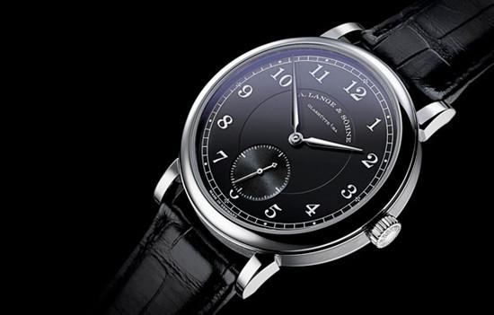 朗格表推出黑色表盘1815铂金950限量版腕表
