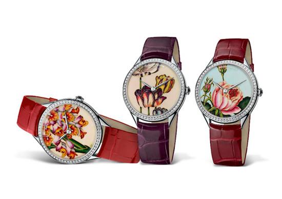 Vacheron Constantin推出艺术大师系列花之神殿腕表