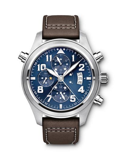 IWC万国表推出全新飞行员追针计时特别版腕表