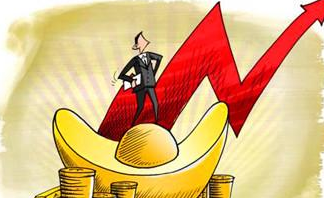 美元持續走強 黃金價格小幅上漲
