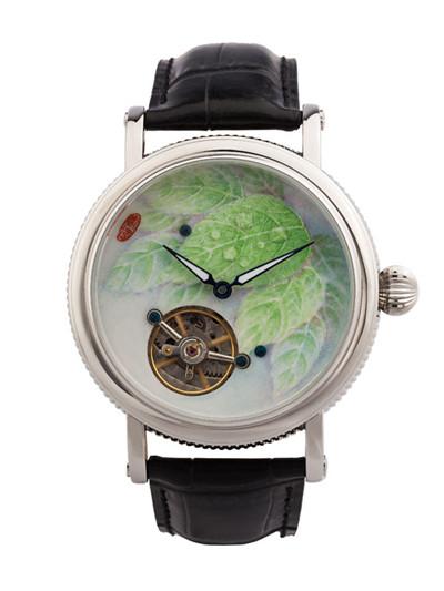 张稻名表品牌携手卢昊打造中国顶级艺术腕表