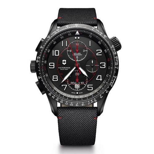 瑞士维氏名表品牌推出全新黑色版本Airboss腕表