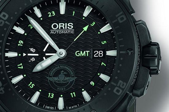 豪利时推出全新Force Recon GMT两地时间腕表