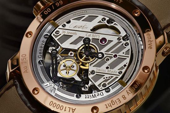迪菲伦推出全新陀飞轮腕表 搭载自动上链陀飞轮机芯