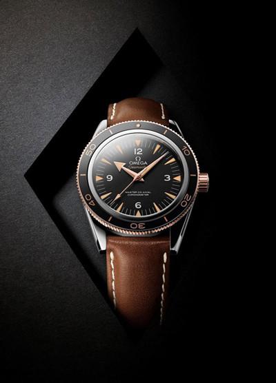 欧米茄推出全新海马300腕表 传奇腕表耀世回归
