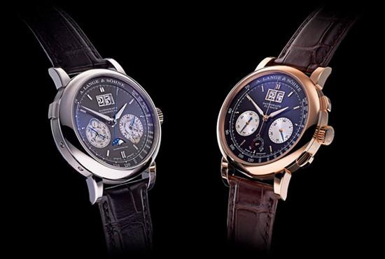朗格表推出玫瑰金/白色18K金两款全新腕表