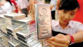 相比黄金 白银价格显得更为弱势
