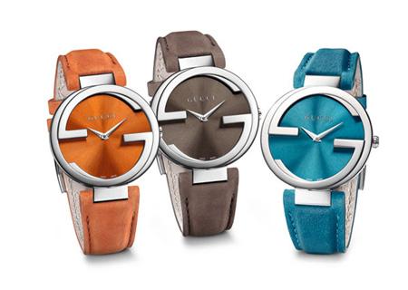 Gucci推出两款全新Interlocking互扣双G腕表