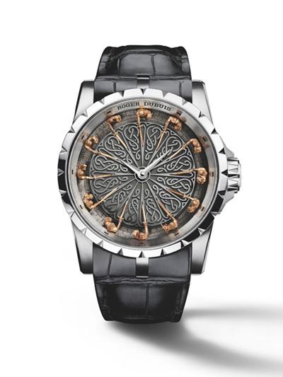 Roger Dubuis推出圆桌骑士腕表 源自亚瑟王传奇故事
