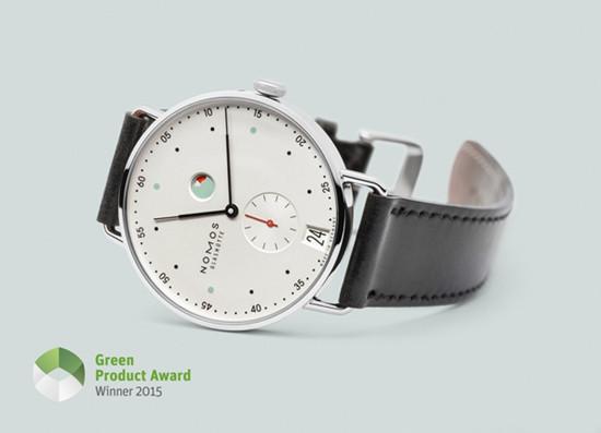 NOMOS名表品牌获得Green Product Award绿色产品奖