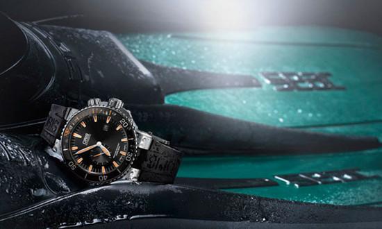 豪利时荣耀推出全新Carlos Coste潜水限量腕表