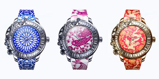 迦堤名表品牌推出「Graceful 华艺卓约」系列腕表