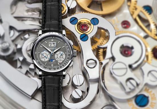朗格表推出两款全新18K玫瑰金腕表