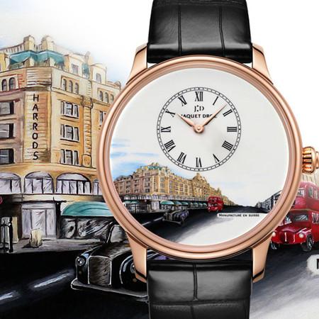 Jaquet Droz推出两款全新建筑艺术高级腕表