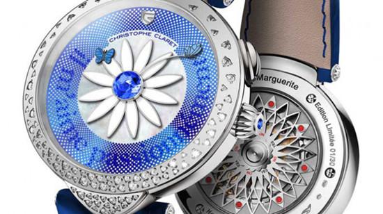 Christophe Claret名表品牌推出全新系列花卉腕表