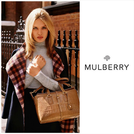Mulberry释出2015秋冬系列包包广告大片