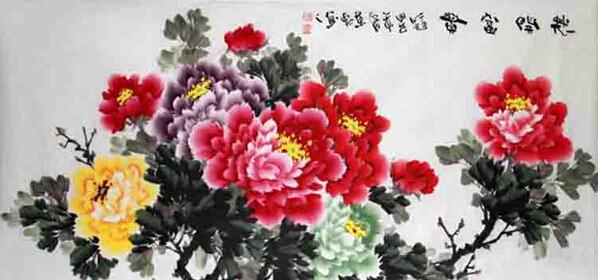 书画收藏与鉴赏 花开富贵