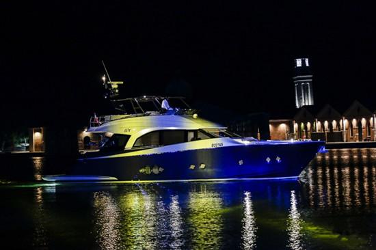 开启新纪元 蒙地卡罗MCY 105游艇完成首秀