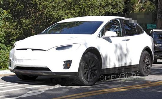 特拉斯全新SUV车型Model X量产车将于9月首发登场高清图片