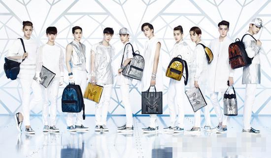 从EXO到克拉恋人 丑贵MCM包包为什么招人喜欢