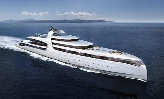 海洋公司计划推出超豪华游艇 长达476英尺