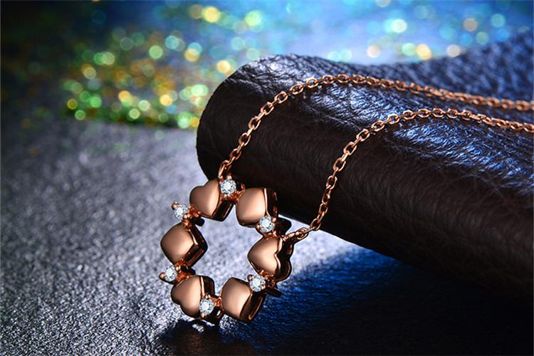 恒久之星珠宝白18K金52分原创钻石吊坠_珠宝图片