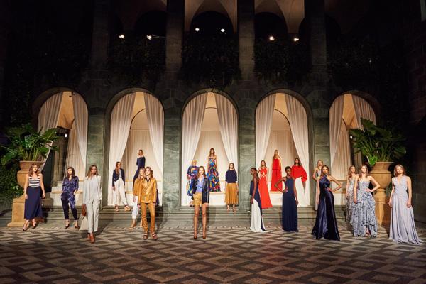 Ralph Lauren米兰时装周举办2016春季系列预展