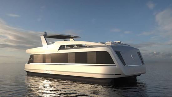 全球顶级游艇_overblue推出世界最豪华游艇 堪比顶级公寓