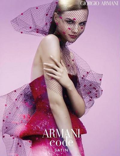 阿玛尼曝光全新Armani Code Satin香水广告