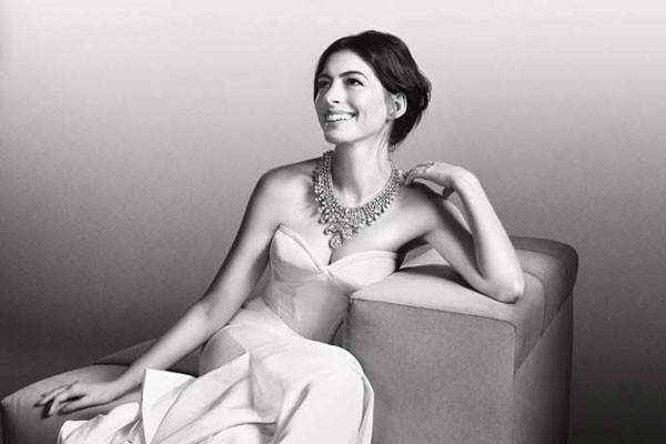 Anne Hathaway(安妮·海瑟薇)最新珠宝大片曝光