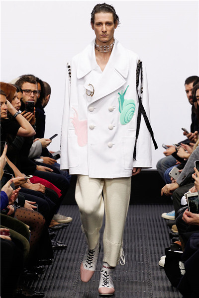 J.W.安德森服装品牌伦敦男装周发布2016秋冬系列