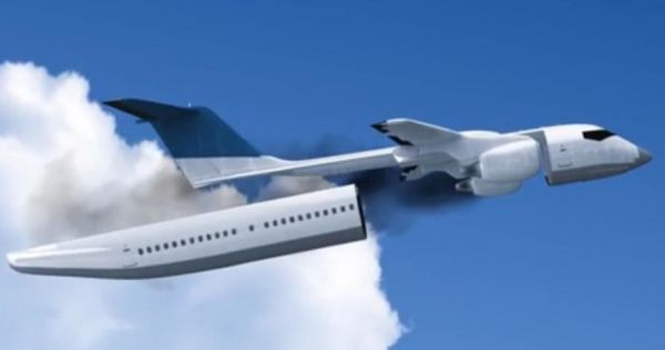 热门飞机新设计令客舱与飞机可分离 空难时能救命