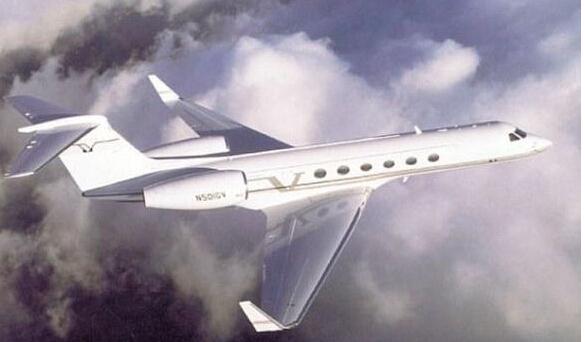 私人飞机奢华内景 花费3000万镑