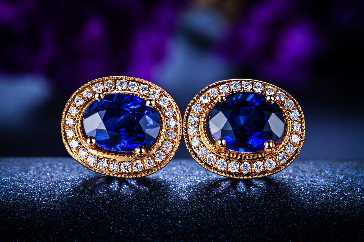 宝石分类: 其他 款式: 耳钉/耳饰 镶嵌材质: 黄金/k黄金镶嵌宝石图片