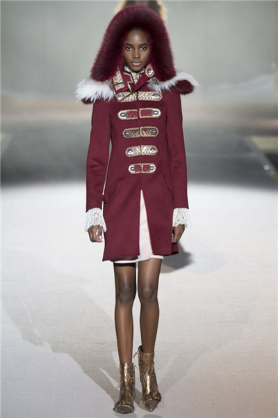 Ermanno Scervino服装品牌于米兰发布2016秋冬系列