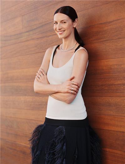 Caitriona Balfe为《InStyle》杂志拍摄时尚写真