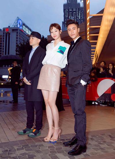 陈坤佩戴名士名表品牌腕表亮相电影节红毯