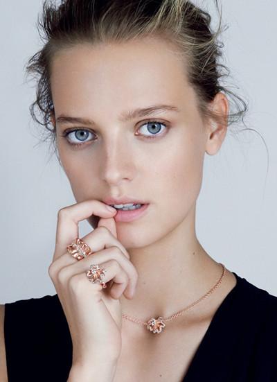迪奥释出全新Archi Dior珠宝广告大片