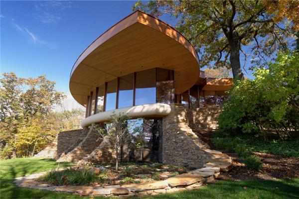 Chenequa别墅:被茂密橡树森林围绕的私人豪宅