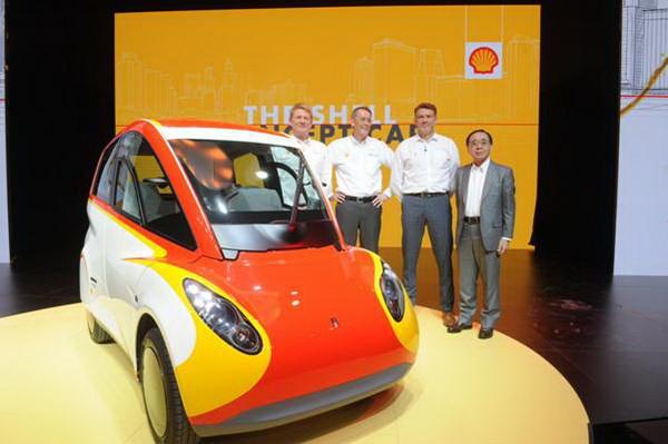 壳牌新能源概念车发布 共创低碳环保生活
