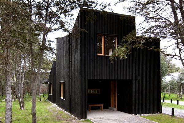 CLF别墅:隐藏在巴塔哥尼亚的三连体柏树豪宅