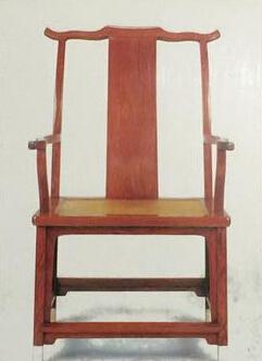 古家具位尊高座靠背椅收藏鉴赏