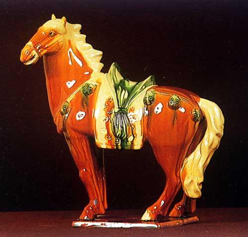 唐三彩中为什么多是驼和马的样式